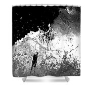 Natural Power Shower Curtain