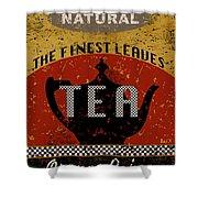 Natural Tea Shower Curtain