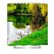 Natural Vibrance Shower Curtain