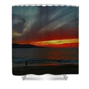 Naturaleza Al Rojo Pasion  Shower Curtain