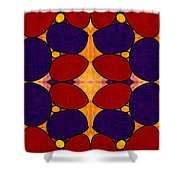 Naturally Dimensional Abstract Bliss Art By Omashte Shower Curtain