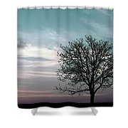Nature - Early Sunrise Shower Curtain