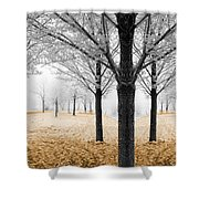 Nature - Mixed Season Shower Curtain