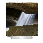 Nature Abstract Art Shower Curtain