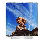 Nature And Man Shower Curtain