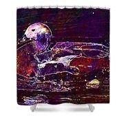 Nature Animals Duck Lake  Shower Curtain