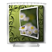 Nature Bug Shower Curtain