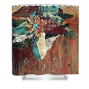 Nature's Display Shower Curtain by Phyllis Howard