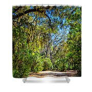 Nature Drive Shower Curtain