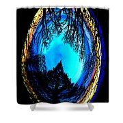 Nature Egg Shower Curtain
