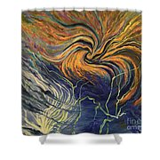 Nature Frustration Shower Curtain