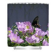 Nature In The Wild - Profiles By A Stream Shower Curtain