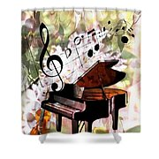 Nature Is Music To My Soul Shower Curtain