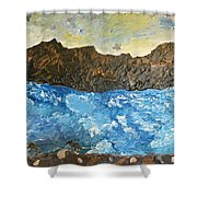 Nature On The Sea Shower Curtain
