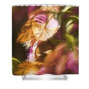 Nature Pastel Artwork Shower Curtain