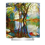 Nature Reflections 2 Shower Curtain