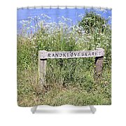 Nature Reservoir.denmark Shower Curtain