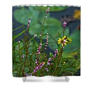 Nature Water Garden Shower Curtain