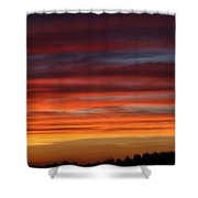 Midwest Sunset Shower Curtain