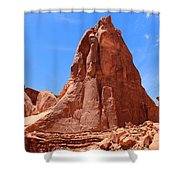 Nature's Curves Shower Curtain