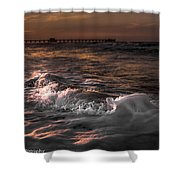 Natures Drama 3 Shower Curtain