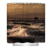 Natures Drama 4 Shower Curtain