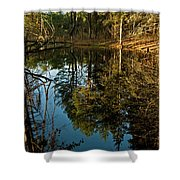 Natures Elements  Shower Curtain