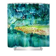 Natures Embrace 2 Shower Curtain