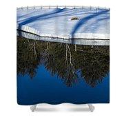 Natures Flip Side Shower Curtain