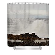 Nature's Force Shower Curtain