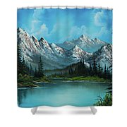 Nature's Grandeur Shower Curtain by C Steele