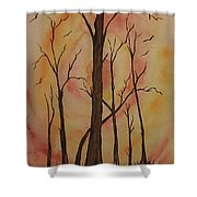 Natures Guardian Shower Curtain by Ginny Youngblood