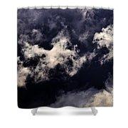 Natures Paint Daubs Shower Curtain