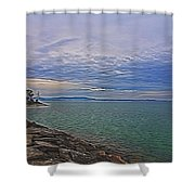 Nature's Palette - 3 Shower Curtain
