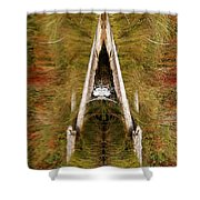Natures Reflection Shower Curtain by Sue Harper