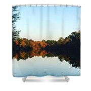 Nature's Reflections  Shower Curtain