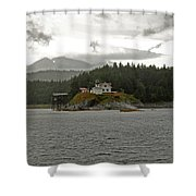 Nature's View Shower Curtain