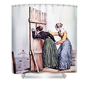 Naughty Ladies 19th Century Shower Curtain