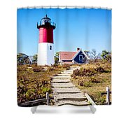 Nauset Shower Curtain