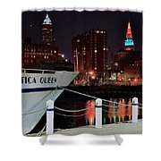 Nautica Queen Shower Curtain