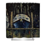 Nautical Nocturne Shower Curtain