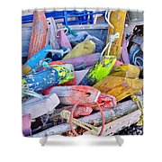 Nautical Riot Of Color Shower Curtain