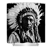 Navajo Indian Chief Shower Curtain