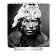 Navajo Man, C1905 Shower Curtain