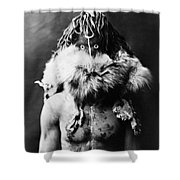 Navajo Mask, C1905 Shower Curtain by Granger