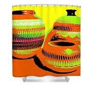 Navajo Pots Shower Curtain