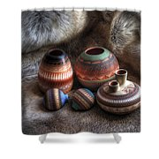 Navajo Pottery Shower Curtain
