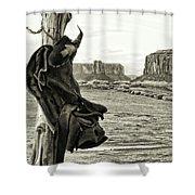 Navajo Saddle Shower Curtain