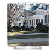 Naval Academy - Captains Row Shower Curtain