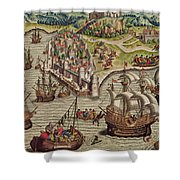 Naval Combat Shower Curtain